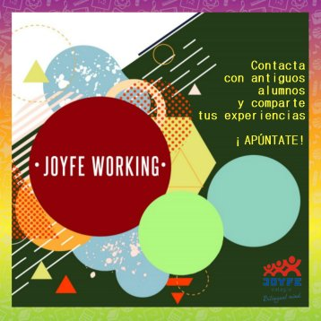 Colegio Joyfe - Noticias - Joyfe working