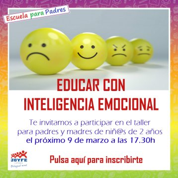 Colegio Joyfe - Noticias - educar con inteligencia emocional